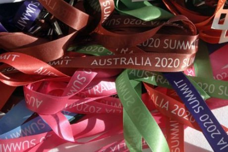 Australia 2020 Summit image, courtesy ABC