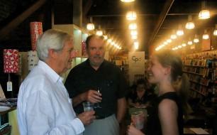 John Menadue (CPD founder), Ian McAuley (CPD Felllow) & Miriam Lyons (CPD Director)