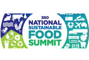 National sustainable food summit logo