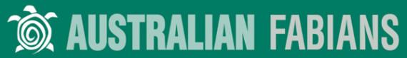 Austrailan Fabian Society logo