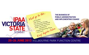 IPAA Victoria State Summit logo + image