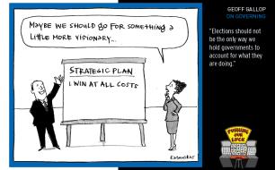 Fiona Katauskas cartoon for strategic government chapter