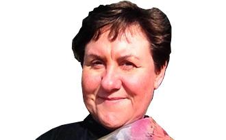 Sue Ogilvy smiling