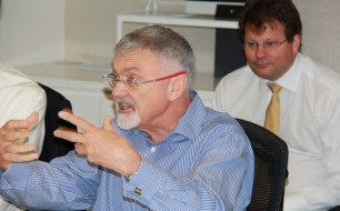 Prof. Peter Shergold (foreground)